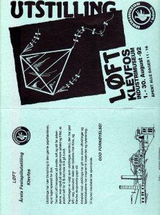 92 Utstilling Løft Klevfos 1317